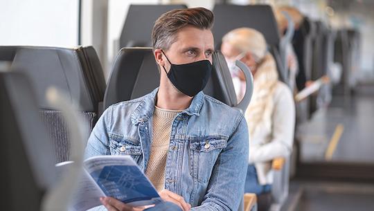 Corona: Im Zug ist es sicherer als gedacht